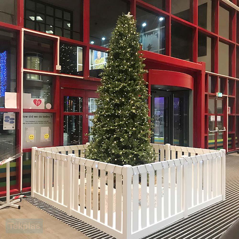Christmas Tree Fence and Guard