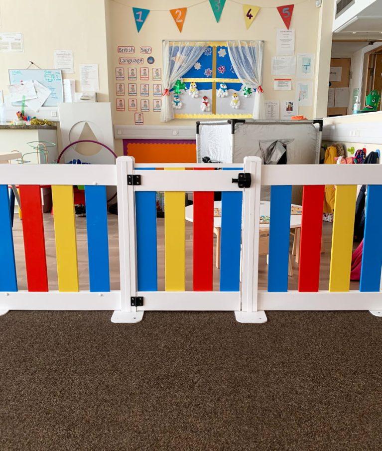 Nursery Fencing Gate
