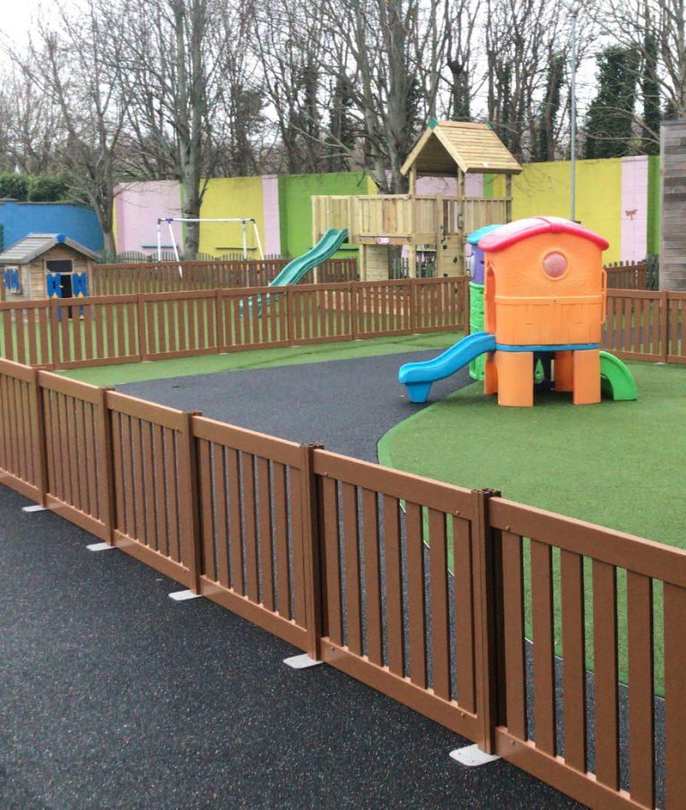 Play Area Fencing Nursery