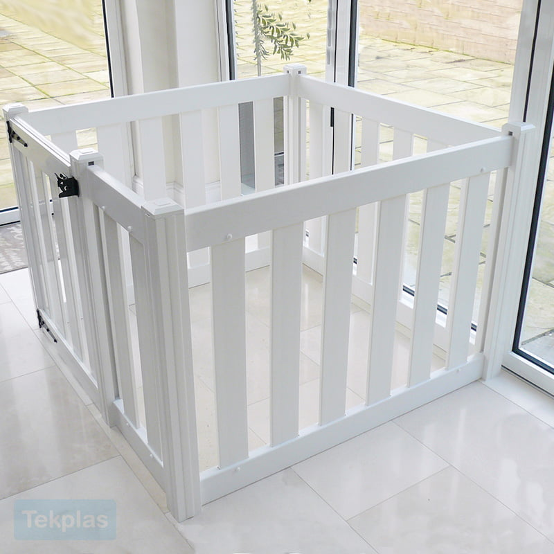 Toddler Plastic Playpen With Gate Baby And Toddler Tekplas