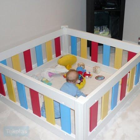 Baby Amp Toddler Playpen White Baby Amp Toddler Tekplas
