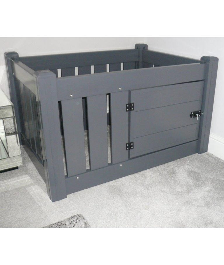Puppy Playpen Grey Door Kittens