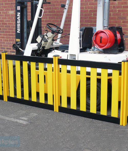 warehouse barriers